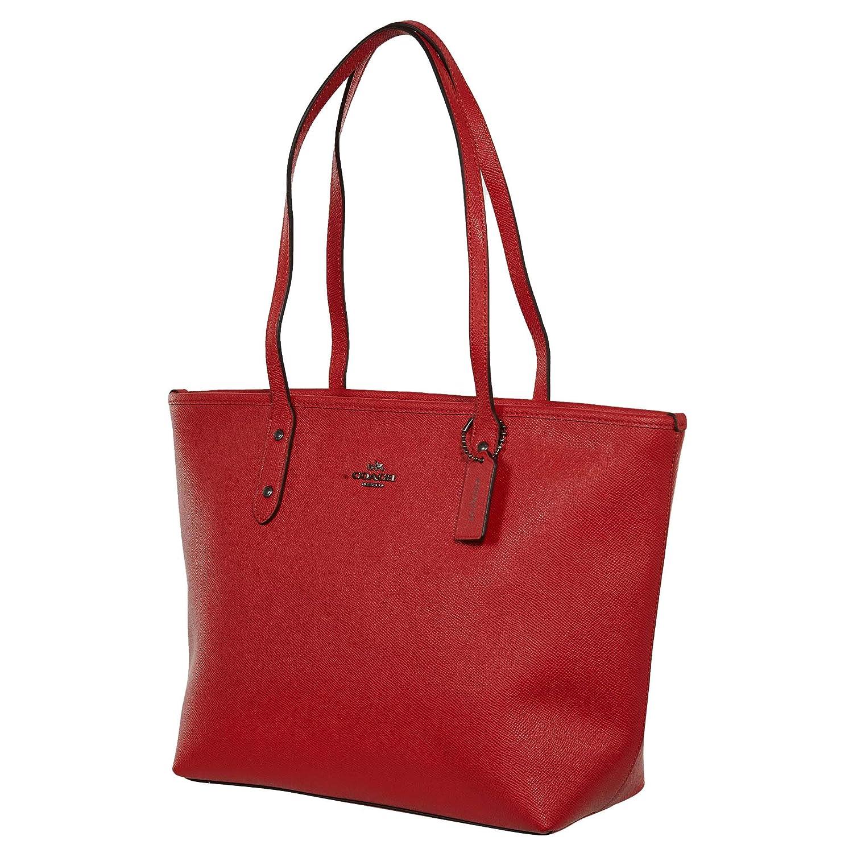 546bda019cfa6 Coach City Zip Tote, F58846, Poppy: Handbags: Amazon.com