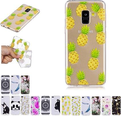 Yancosmos Coque Samsung Galaxy J6 2018 Ananas Silicone TPU Gel ...