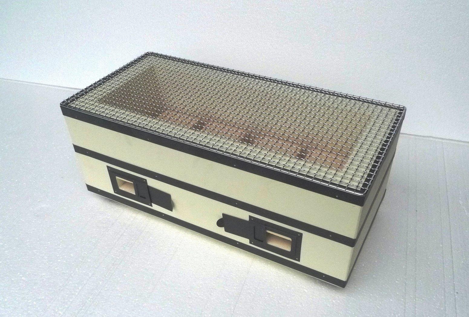 binchotan Japanese excellent charcoal konro grill/Hand made/Noto Ishikawa made
