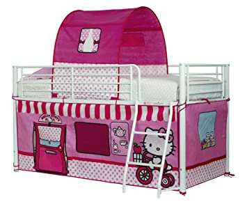 ReadyRoom Hello Kitty 1.9m Mid Sleeper Bed Tent  sc 1 st  Amazon UK & ReadyRoom Hello Kitty 1.9m Mid Sleeper Bed Tent: Amazon.co.uk ...