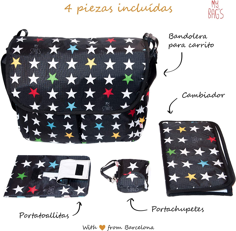 My Bags Kit Bolso Carro Bebe Universal + Cambiador + ...