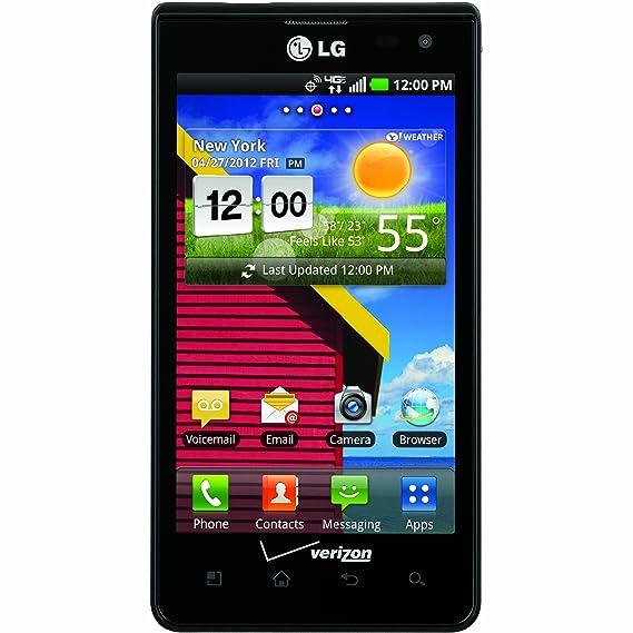 amazon com lg lucid black 8gb verizon wireless cell phones rh amazon com LG Extravert Manual LG Owner's Manual