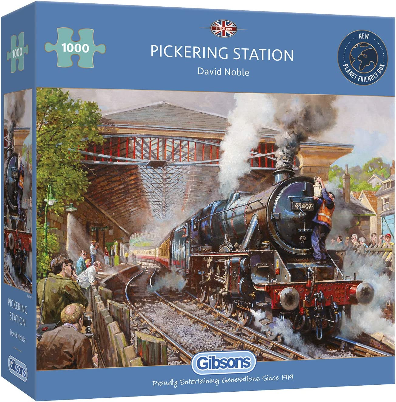 Gibsons The Age Of Steam 1000 Piece Jigsaw Puzzle