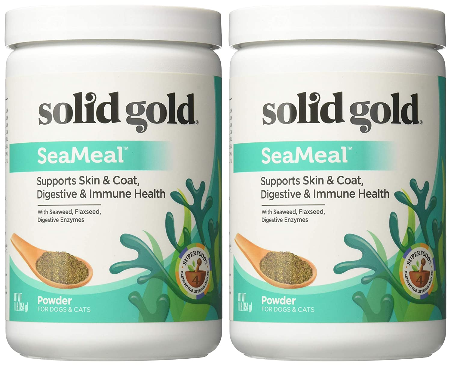 Amazon.com: Solid Gold seameal suplemento a base de algas ...