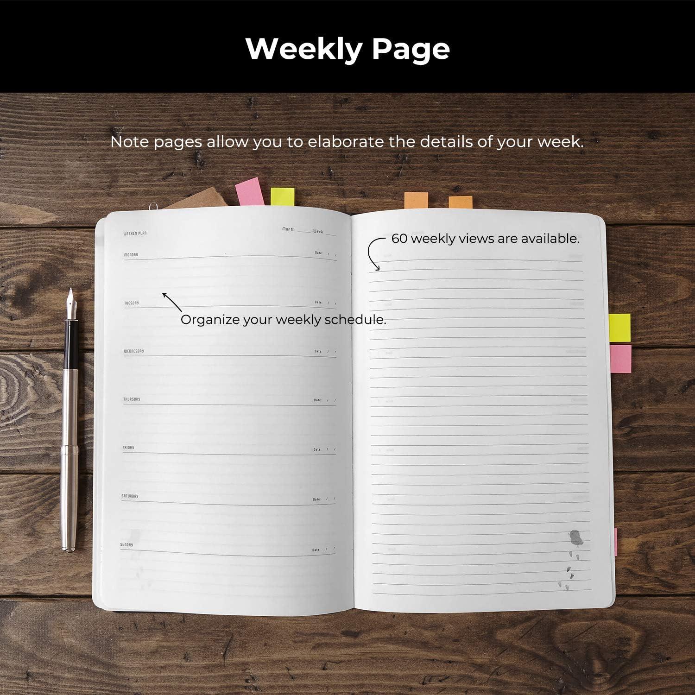 C68241-20 Filofax 2020 Pocket Day on a Page Refill Jan 2020- Dec 2020 4.75 x 3.25 inches