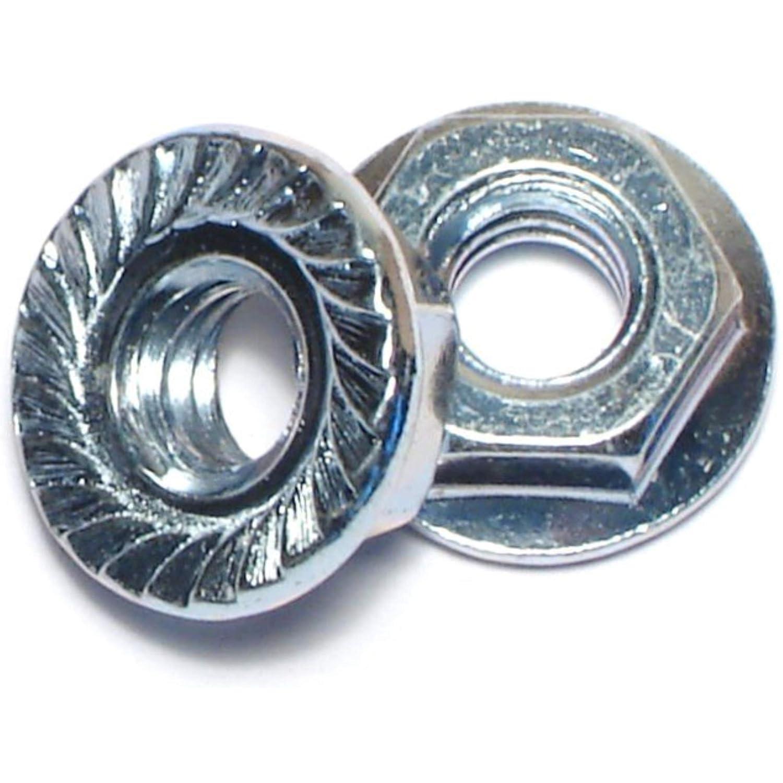 Hard-to-Find Fastener 014973242497 Hex Flange Nuts, 1/4-Inch, 100-Piece