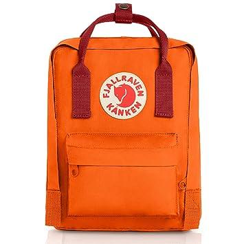 Mini Sac Mixte Orange Dos Fjällräven Enfant Kånken À EIHWY29D