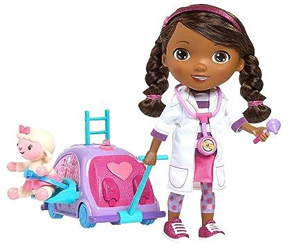 Amazon Com Doc Mcstuffins Walk N Talk Doc Mobile Toys Games