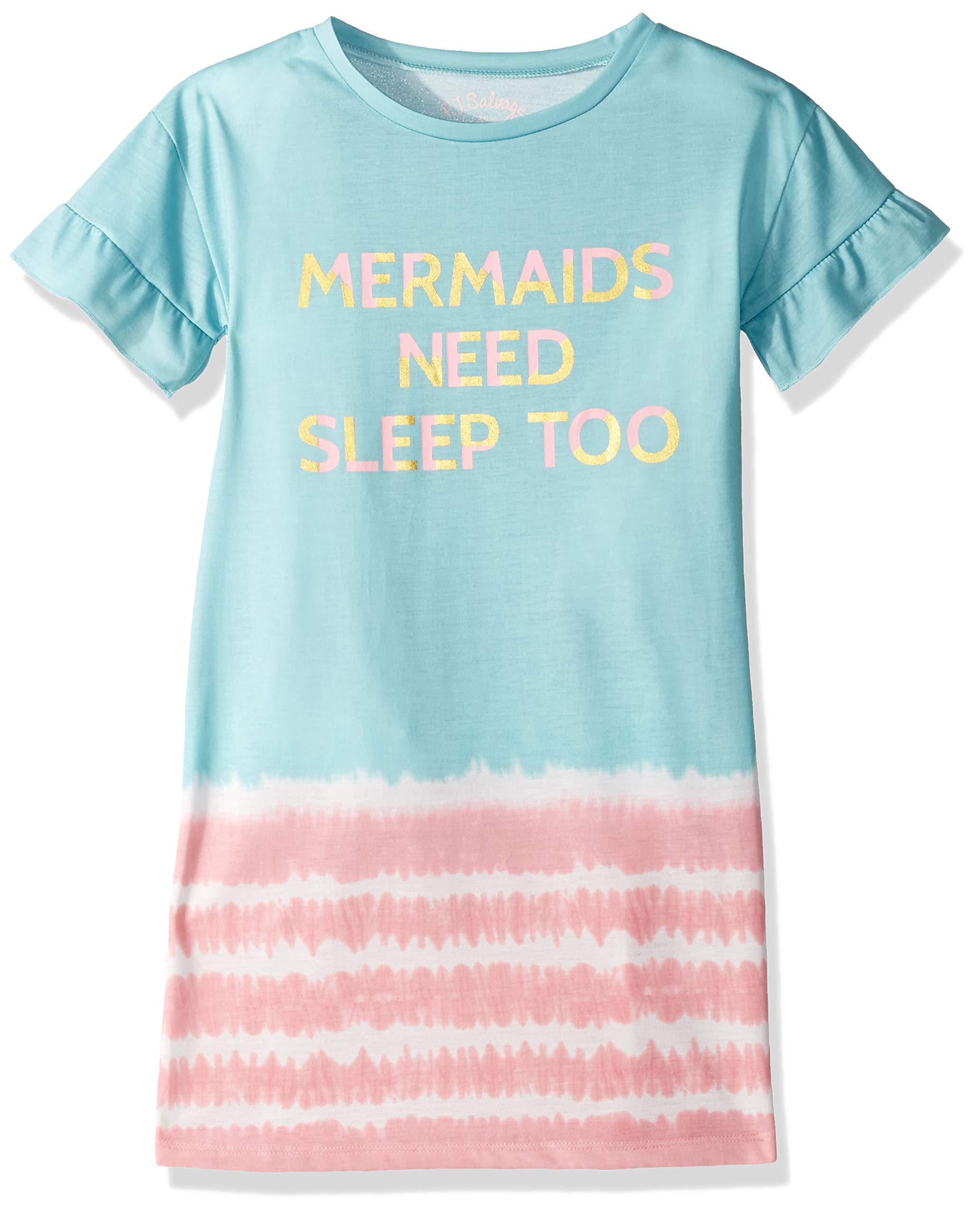 PJ Salvage Kids Girls' Mermaid Nightshirt