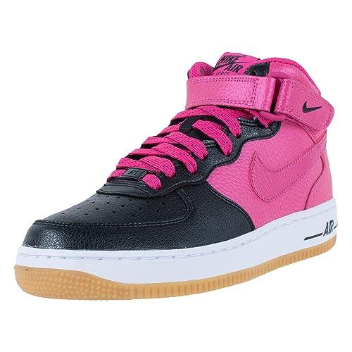 Nike Air Force 1 Mid (GS), Zapatillas de Baloncesto para Niñas ...
