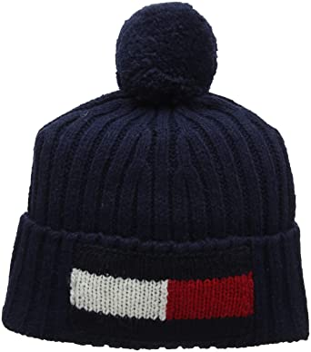 Tommy Hilfiger Big Flag Beanie One Size Navy at Amazon Men s ... 68cd9f5f169
