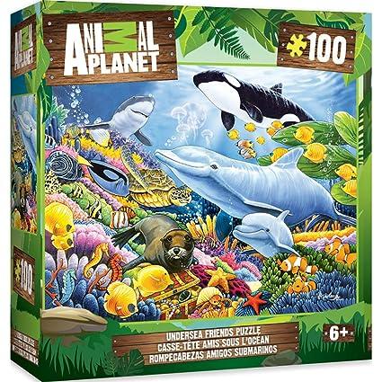 MasterPieces Animal Planet Undersea Friends - 100 Piece Kids Puzzle