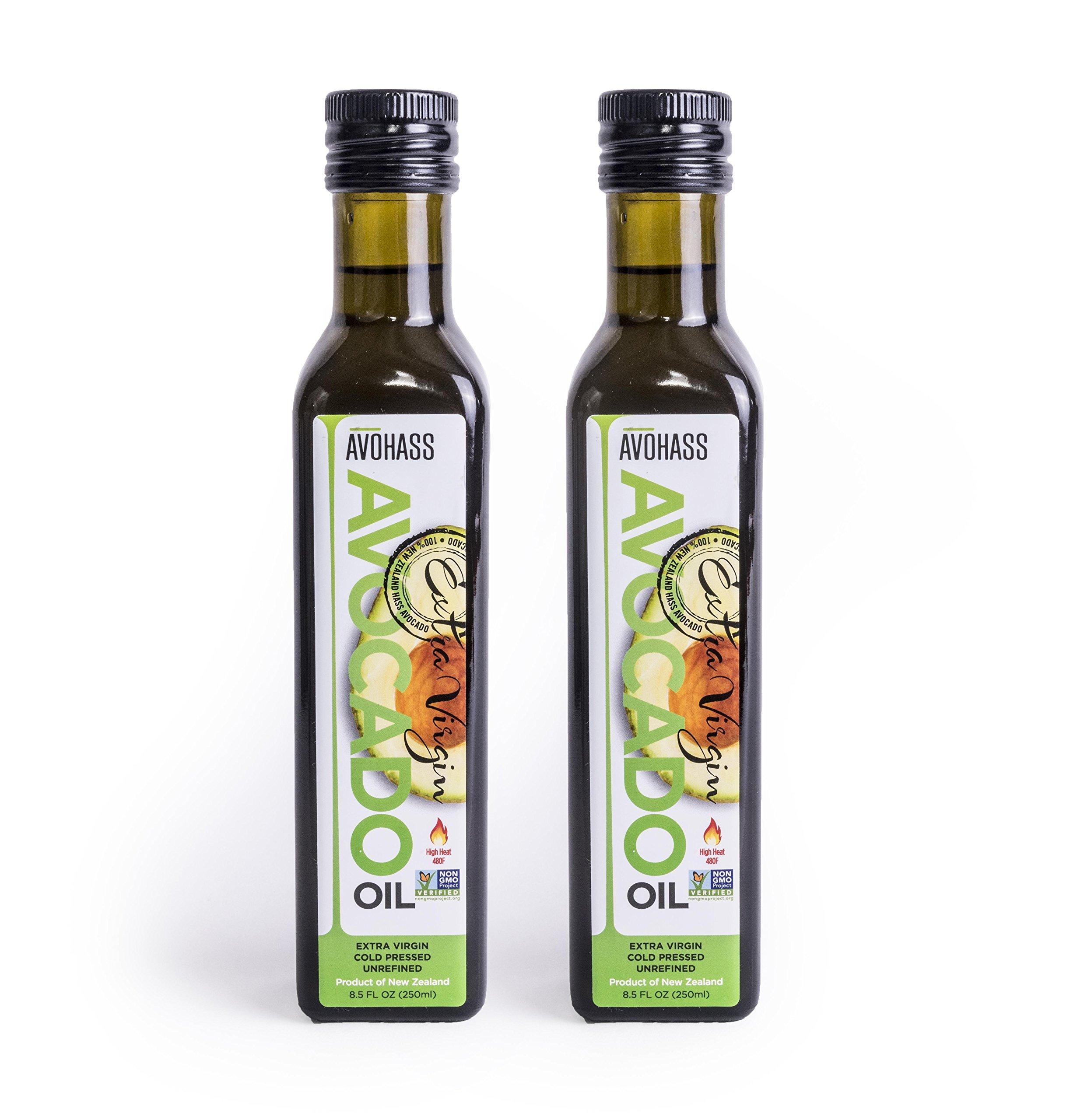Avohass New Zealand Extra Virgin Avocado Oil 2 Bottle Case