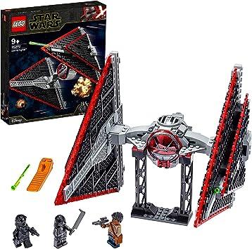 Oferta amazon: LEGO Star Wars - Caza TIE Sith, Maqueta para Montar un Set Inspirado en la Guerra de las Galaxias una Esperanza, Incluye Soporte para Exponer, Juguete de Construcción a Partir de 9 Años (75272)