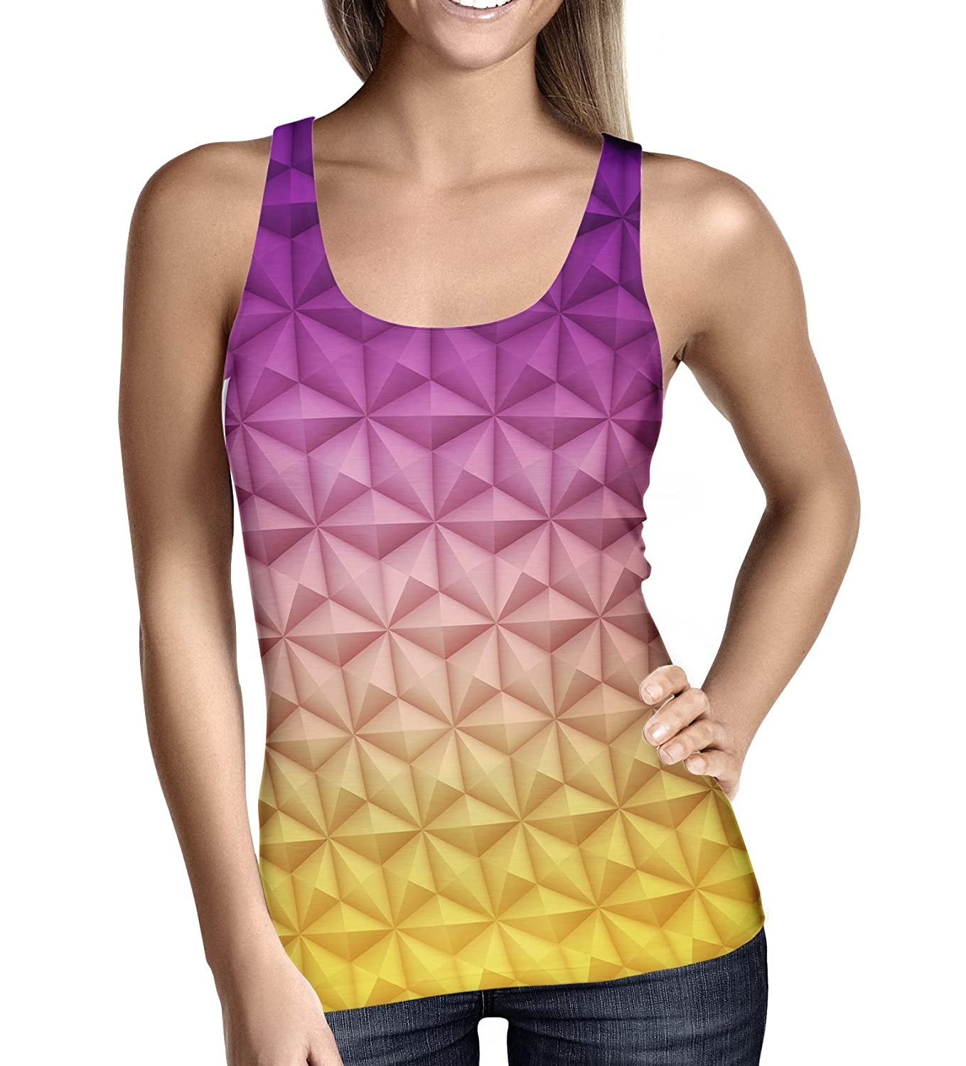 Epcot Spaceship Earth Ladies Tank Top Gym Workout