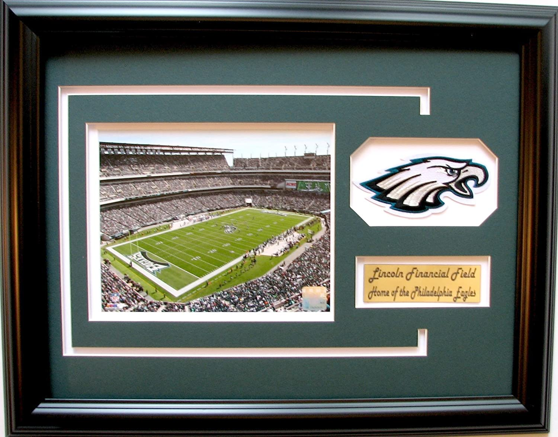 NFL Philadelphia Eagles Lincoln Financial Field Bild Rahmen mit Team ...