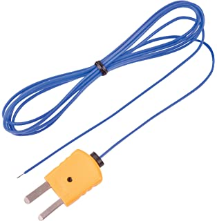 REED Instruments TP-01 Beaded Thermocouple Wire Probe, Type K, -40 to