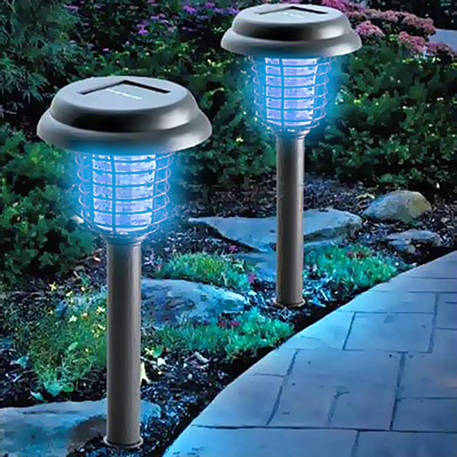 Amazon OUTXPRO LED Solar Powered Garden Path Light with