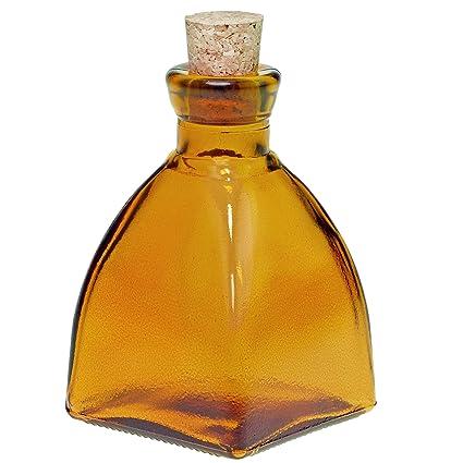 f084feaa42f6 Amazon.com: Couronne Company G5328G08 Diamond Glass Bottle, 6.8 oz ...