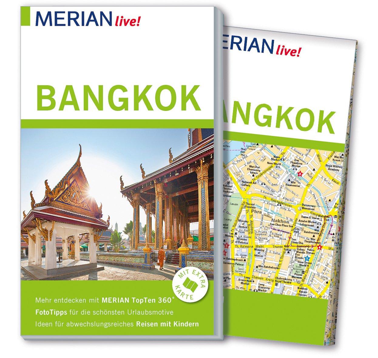 MERIAN live! Reiseführer Bangkok: Mit Extra-Karte zum Herausnehmen