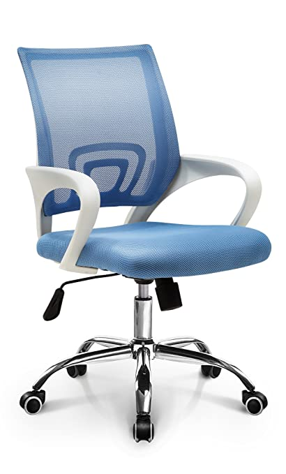Charmant Neo Chair Fashionable Mid Back Mesh Ergonomic Swivel Desk Home Office Computer  Chair With Lumbar