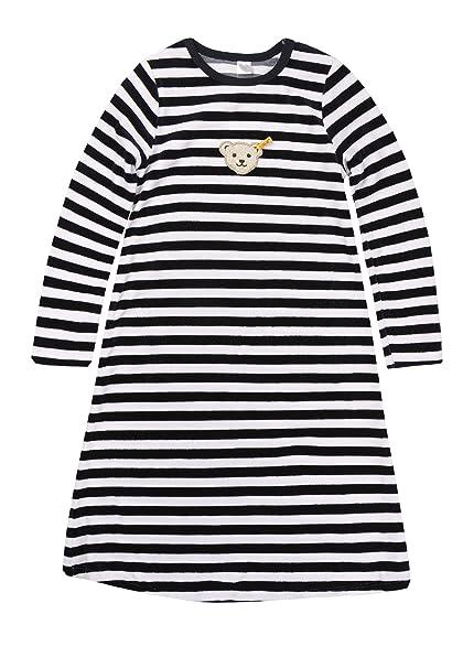UK Verfügbarkeit billigsten Verkauf verschiedenes Design Steiff Mädchen Nachthemd 1/1 Arm, Gestreift,