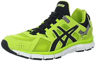 ASICS Men's Gel-Synthesis Running Shoe,Lime/Black/Lime,9 M
