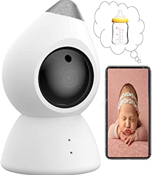 Arlo Baby 1080p HD Wifi Smart Monitoring Camera with Table//Wall Stand