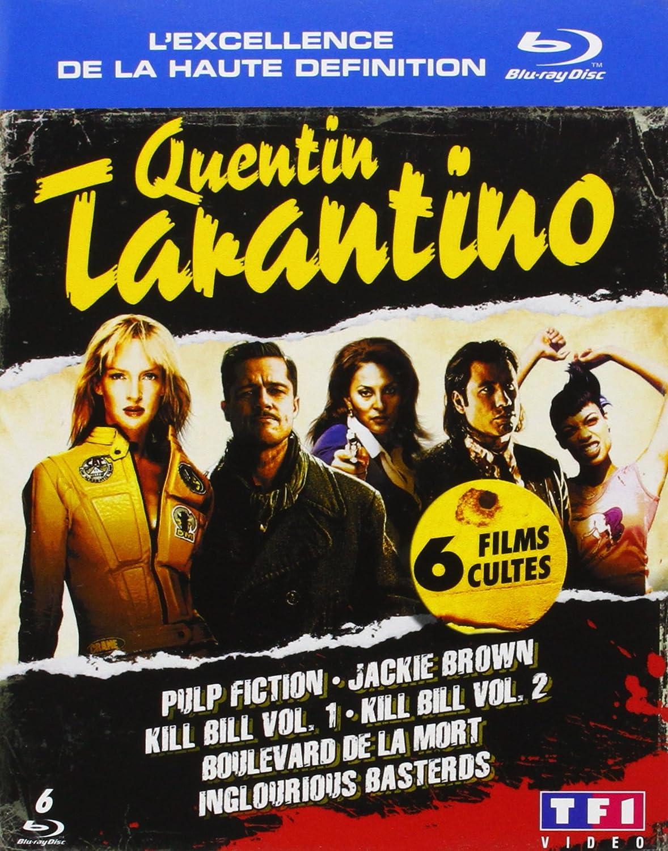 Quentin Tarantino - Coffret 6 films Francia Blu-ray: Amazon.es ...