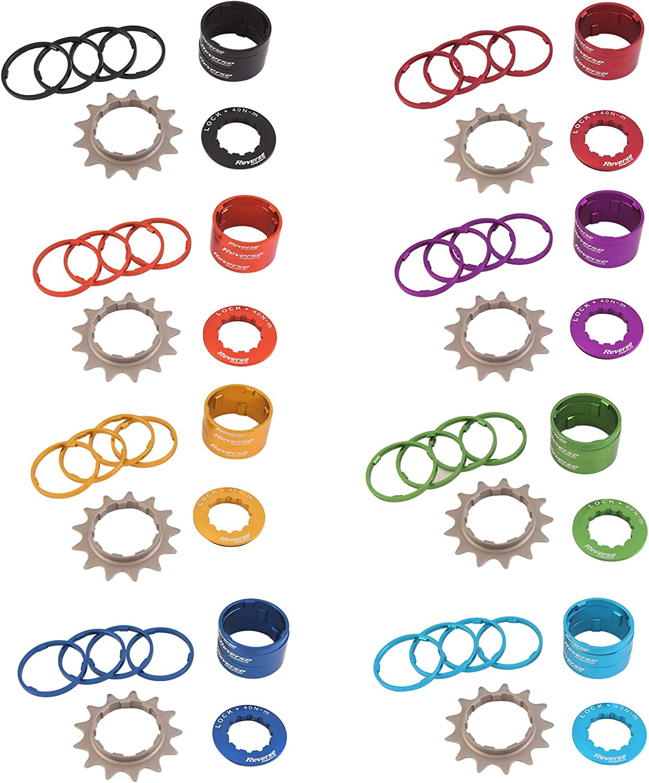 Reverse Single Speed de umr/üstsatz con 13er Pi/ñ/ón Components