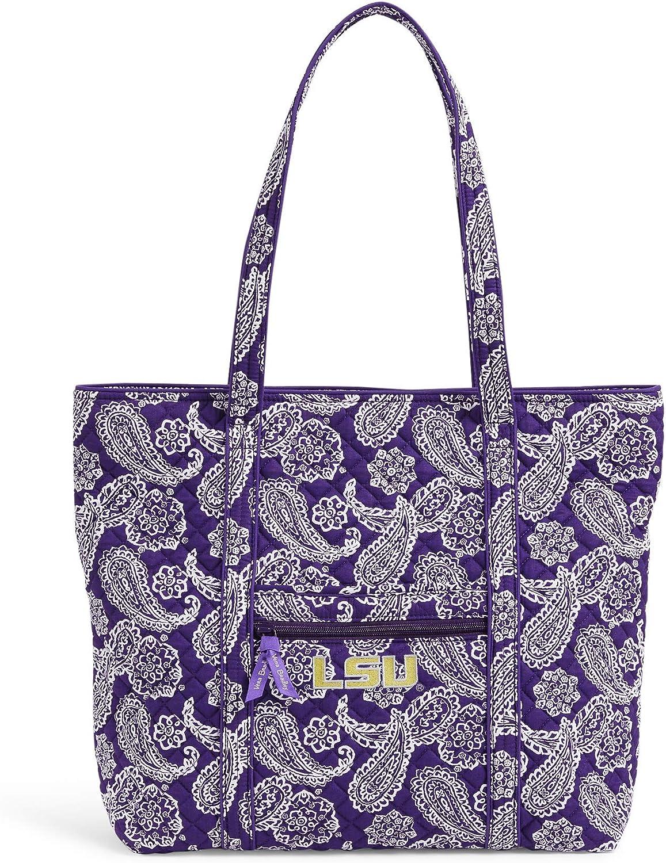 Vera Bradley Collegiate Vera Tote Bag (Multiple Teams Available)