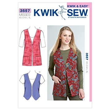 Kwik Sew Mustern K3557 Größe XS/Small/Medium/Large/Extra Große ...