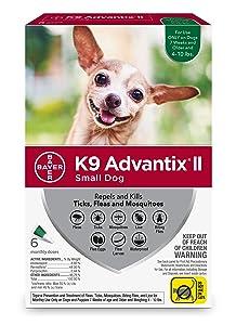 Bayer K9 Advantix II Flea & Tick medicine for dogs