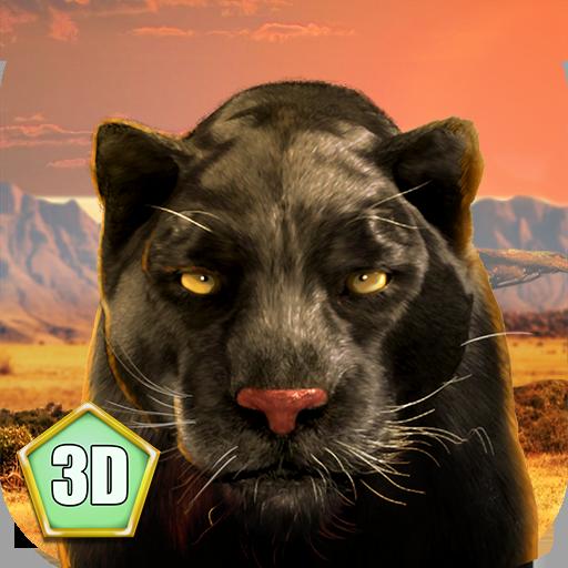 Black Wild Panther Simulator 3D: Amazon.com.br: Amazon
