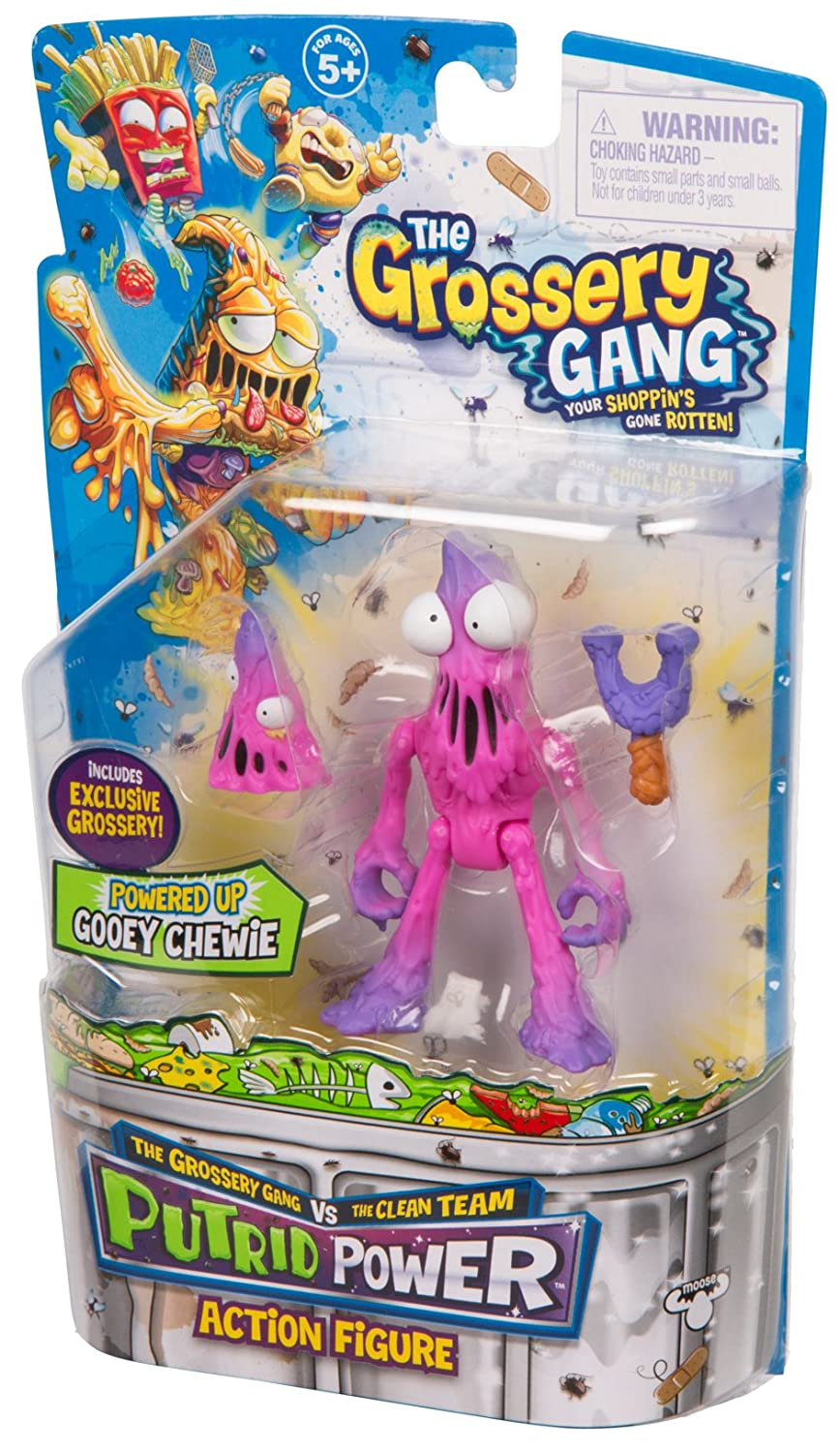 Grossery Gang The Season 3 Action Figurine Blow Fry Moose Toys Import 69056