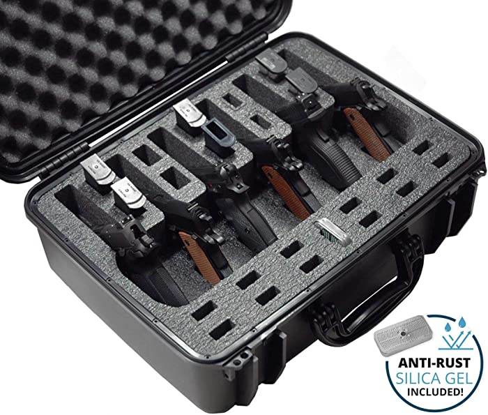 Top 10 Range Pistol Hard Cases