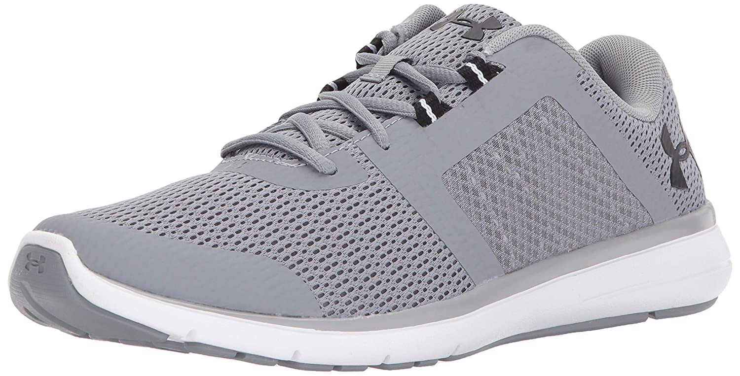 Under Sneaker Armour Running Mens fuse fst Low Top Low Lace Up Running Sneaker B06XPJV5XY Steel/White 10.5 D(M) US 10.5 D(M) US|Steel/White, 飯南町:181f3fa7 --- itxassou.fr