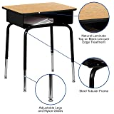 Flash Furniture Student Desk with Open Front