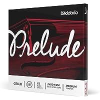 (1/2 Scale) - D'Addario Prelude Cello String Set, 1/2 Scale, Medium Tension