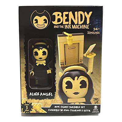 Basic Fun Bendy and The Ink Machine - Alice Angel Buildable Mini-Figure Set (20 Pieces): Toys & Games
