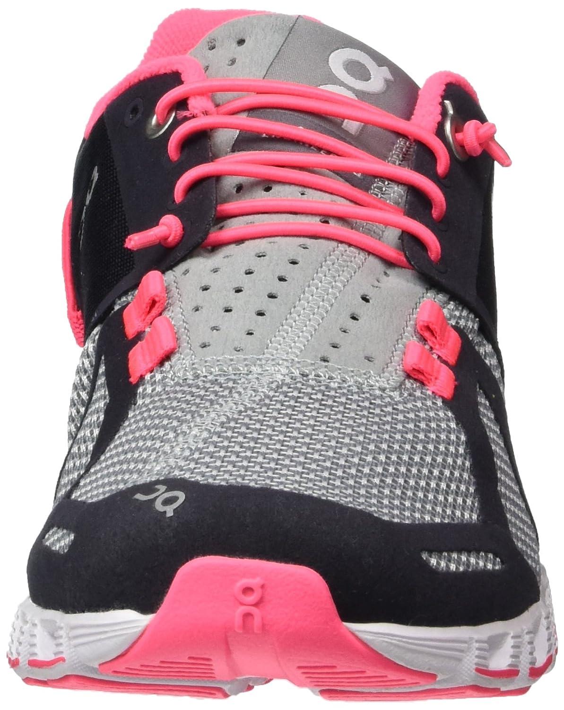 ON Women's Running Cloud US|Grey/Neon Sneaker B00LB2YNAE 9 B(M) US|Grey/Neon Cloud Pink 753bb4
