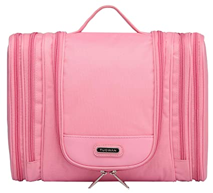 987f26caef Image Unavailable. Image not available for. Color  Hetlon Heavy Duty  Waterproof Hanging Toiletry Bag Travel Cosmetic Makeup Bag for Women Shaving  ...