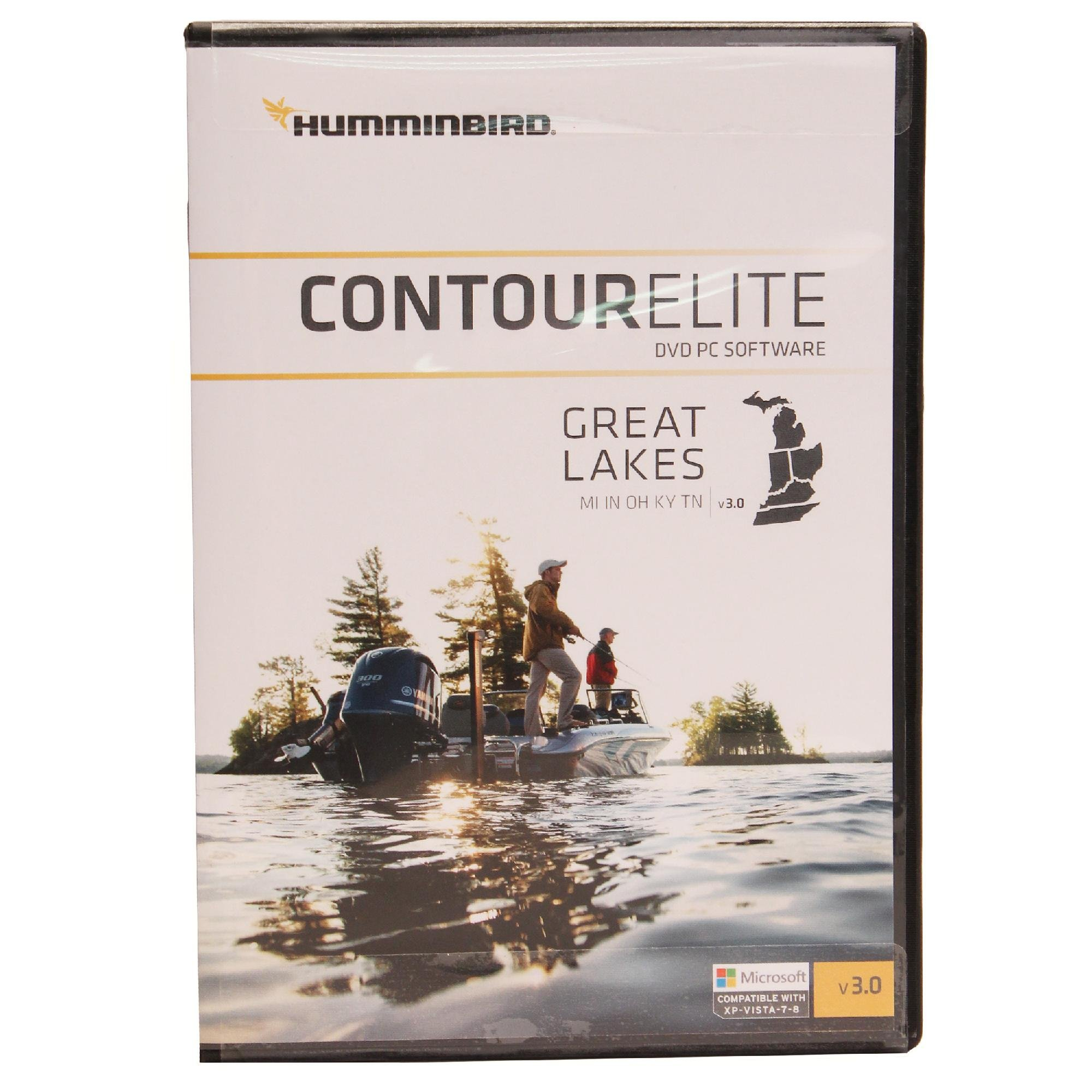 Humminbird Lakemaster 600016-3 Contour Elite- Great Lakes Boating Chartplotters (Feb '16)