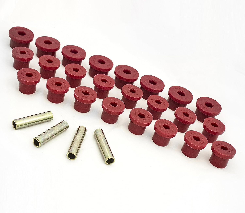 Kit boccole balestre in poliuretano alveolare HM4X4