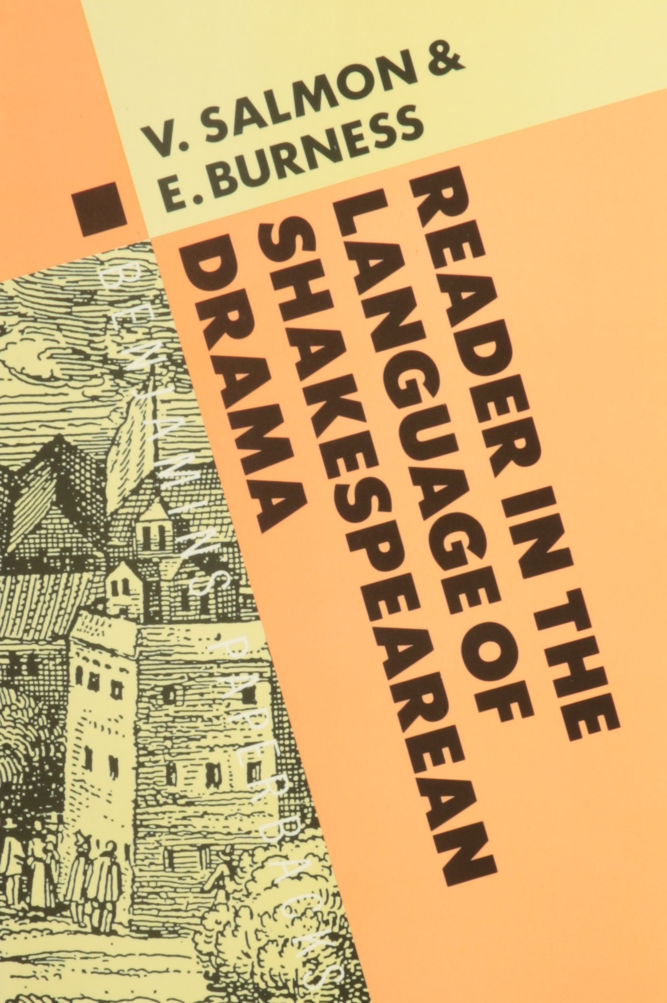 A Reader in the Language of Shakespearean Drama (Studies in the History of the Language Sciences) by John Benjamins Publishing Company