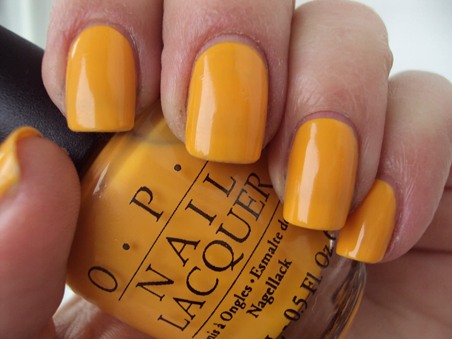 OPI Nails The It Colour Yellow Nail Lacquer Polish