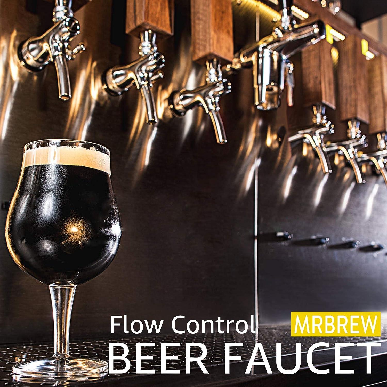 Amazon.com: MRbrew Draft Beer Faucet, Adjustable Beer Tap Faucet ...