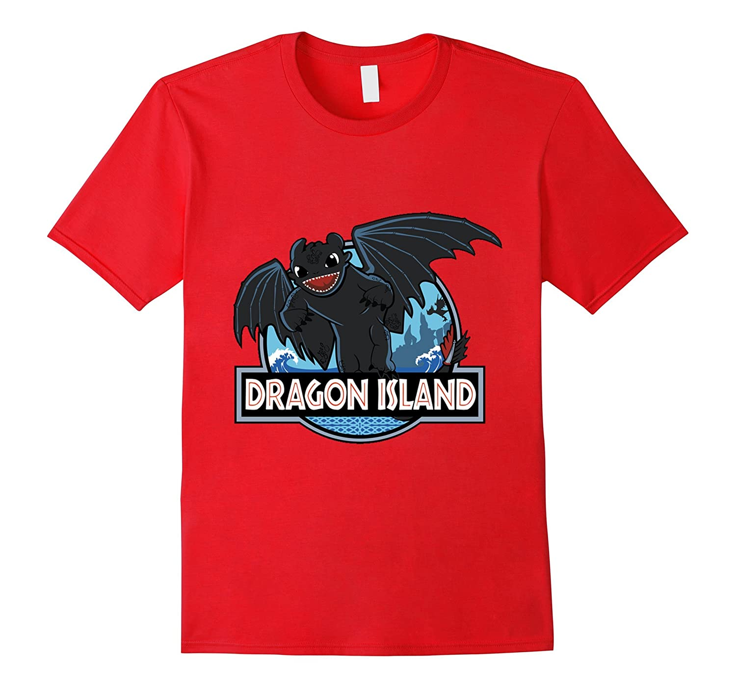 Dragon Island T-Shirt-Art