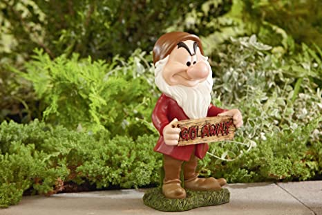 Decorative Home Garden Decor Rock Statue With Welcome Go Away