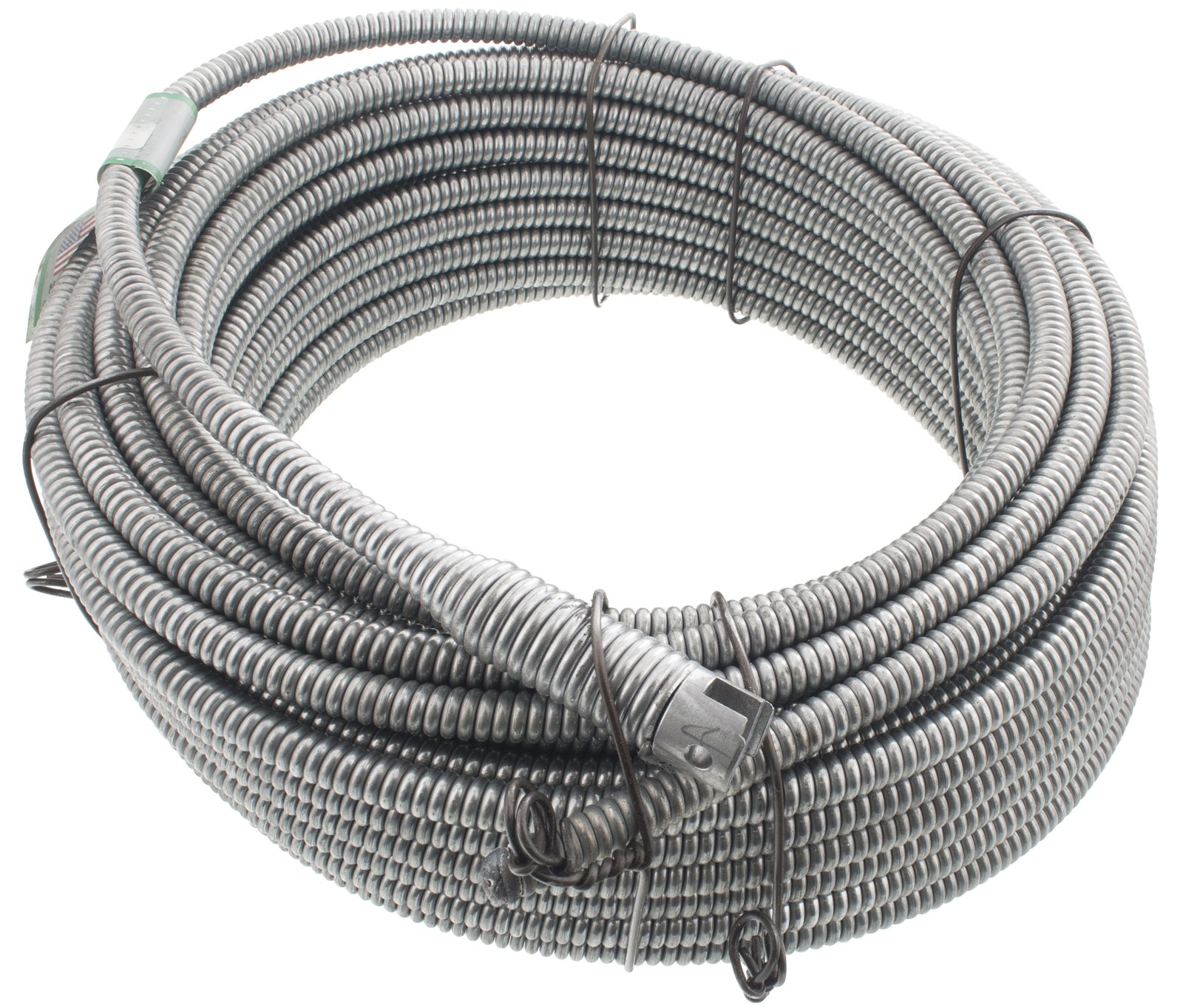 Spartan Tool 13/32'' x 75' Inner Core SparShine No. 8 Drain Snake Cleaning Cable 3448805 by Spartan Tool